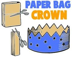 craft crowns   Paper Bag Crafts for Kids : Ideas for Arts & Crafts Projects ...