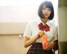 広瀬すず   Tumblr Japanese Eyes, Japanese Beauty, Japanese Fashion, Asian Beauty, Fashion Models, Girl Fashion, Ladies Fashion, Schoolgirl Style, Girls Uniforms