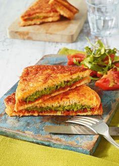 Avocado-French-Toast Rezept - [ESSEN UND TRINKEN]