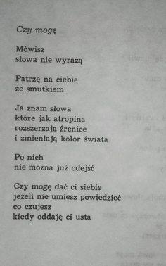 Zdjęcie użytkownika Cyniczny Romantyzm. Poem Quotes, Life Is Hard, Romantic Quotes, Some Words, Haiku, Quotations, It Hurts, Sad, Thoughts