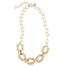 Statement-stripe necklace