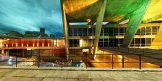 Referência: MAM _ Local: RJ _ Autor: Arq Affonso Eduardo Reidy _ veja mais em nosso blog http://refarq.blogspot.com.br/2015/02/mam-museu-de-arte-moderna-do-rio-de.html