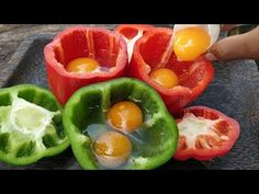 Bell Pepper Omelet / Cooking Duck Egg in Bell Pepper Karahi Recipe, Biryani Recipe, Pulao Recipe Pakistani, Egg Paratha, Cooking Tips, Cooking Recipes, Homemade White Bread, Cheese Sandwich Recipes, Fruit Creations