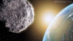 The giant space rock will make a near fly by on Halloween.