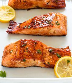 HONEY GARLIC SALMONReally nice recipes. Every hour.Show me what  Mein Blog: Alles rund um die Themen Genuss & Geschmack  Kochen Backen Braten Vorspeisen Hauptgerichte und Desserts