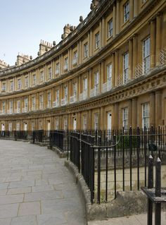 The Circus, Bath, UK. I can picture Anne from Persuasion running down this street here!!!