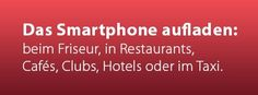 FluxPort – Wireless Charging – kabellos Handy laden zu Hause und unterwegs