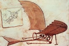 If having a photograph of someone in your nursery isn't your style, you could always go for something that person created. Leonardo Da Vinci's Flying Machine sketch is a historical and scientific wonder, but the drawing itself is sweet, simple and would work great in a boy's nursery.