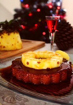 Chef Malhadinho: Pudim de Ananás e Vinho do Porto | Pineapple and Port Wine Pudding