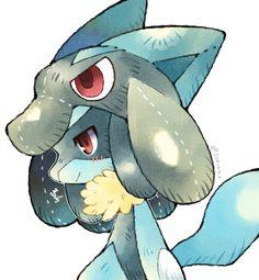 Mega Lucario, Lucario Pokemon, Ash Pokemon, Pokemon Fan Art, Cool Pokemon, Pokemon Stuff, Digimon, Image Fun, Undertale Cute