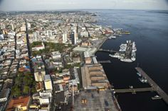 Manaus (Portuguese pronunciation: [mɐˈnaws] or [mɐˈnawʃ]), or Manáos before 1939, is the capital city of the state of Amazonas in northern Brazil. It is situated at the confluence of the Negro and Solimões rivers. It is the most populous city of Amazona
