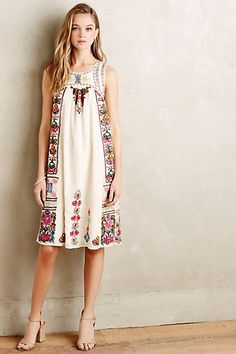 This is so adorable   Kirsi Dress #anthropologie