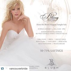 great vancouver wedding #Repost @vancouverbride with @repostapp. ・・・ This week on Vancouver-Bride.com: Do you have your tickets to @blingbridalshow ? More details in bio link! #vancouver #vancouverbride #weddingdress #blush #blushbrudal #blingbridalshow #weddings by @blingbridalshow  #vancouverwedding #vancouverweddingdress #vancouverwedding
