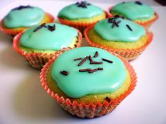 PEPERMINTOVÉ MUFFINY S KOKOSOM mint muffins with coconut