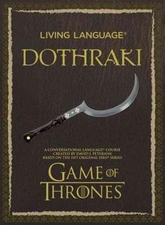 Living Language Dothraki New Sealed Deluxe Set with Guide /& CD Game of Thrones