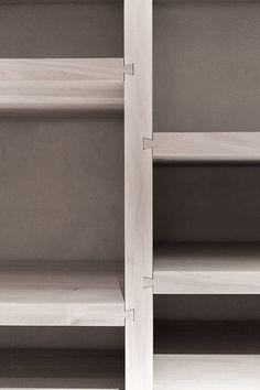 Dovetailed shelves