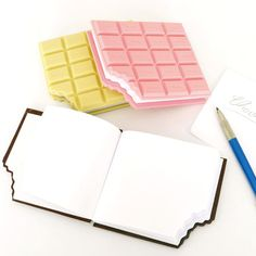 Chocolate Notebooks