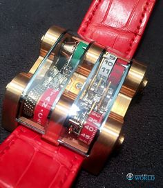 The #1of1  Winch Tourbillon inspired by #Ferrari for @holynitro and designed by @cabestan . #1of1world  ___________________________________________ #tourbillon #luxury #watches #watchporn #lifestyle #horology #inspirational #indonesia #independent #singapore #leather #red #ferrari carporn #cars  #art #design #fashion #italy #milano #london #jakarta #love #beautiful #unique #pieceunique by 1of1world