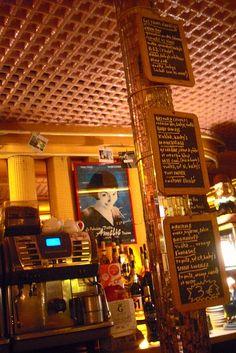 Amelie's Menu in Cafe des Deux Moulins, Paris