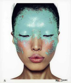 2006 - Chen Man - Bleu 1 Beauty Book #face #makeup