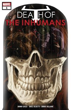 A mysterious new comic has just been announced by Marvel bearing the title Death of the Inhumans – is the Royal Family done for? It's not a stretch to say Marvel's collaboration with IMAX and ABC Inhumans Comics, Marvel Comics, Marvel Comic Books, Marvel Dc, Comic Book Publishers, Black Bolt, Man Projects, Chapter One, Book Images