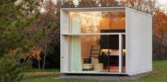 La firma Kodasema, fabricó una casa portátil que se puede trasladar sin ningún problema de un lugar a otro.