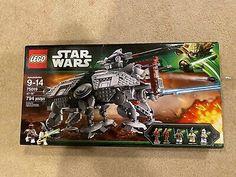 LEGO STAR WARS AT-TE WALKER 75019 New Sealed In Box Retired Discontinued HTF Star Wars Guns, Star Wars Rebels, Lego Star Wars, Lego Disney, Disney Star Wars, Republic Gunship, At At Walker, 501st Legion, Star Destroyer