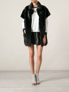 Simonetta Ravizza Short Sleeved Coat - Gaudenzi - Farfetch.com