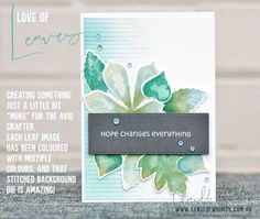 Love of Leaves – Stamping Sunday Blog Hop Playing Favourites - Sense of Whimsy