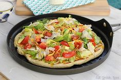 Cobb Salad Pizza | Eat. Drink. Love.