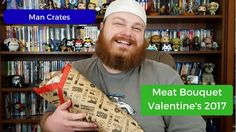 Man Crates - Valentine's Day Meat Bouquet - Valentine's Day Gift from my...