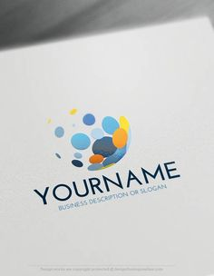 Create Art Logos Online with the Colorful Bubbles Logo Template. With the Free Art logo generator instantly customize your logo online. Slogan Design, Best Logo Design, Colorful Bubbles, Logo Maker App, Create A Logo Free, Handyman Logo, Logos Online, Free Logo Creator, Dot Logo