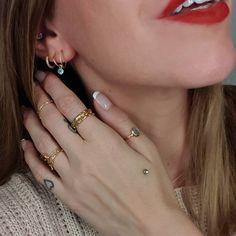 "JUDI on Instagram: ""Good morning Instafam☕🥐 • Anzeige/ #jewelry by @byolgaribler 💍💎💍💎💍😍 • Wish you all a happy day💖"" Happy Day, Good Morning, Wish, Earrings, Instagram, Jewelry, Fashion, Gemstone Earrings, Hapy Day"