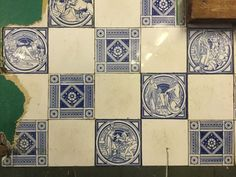 Dishy News - A Transferware Blog: TRANSFERWARE TILES AND THE MINTON LIBRARY