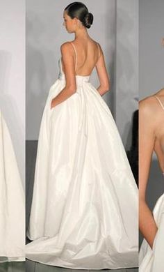Amsale Reese back.  With pockets! I want a wedding dress with pockets
