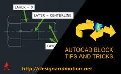 AutoCAD Block Tips and Tricks