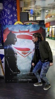 Batman vs SuperElisa #batmanvssupuerman