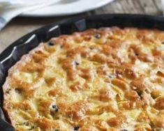 Quiche allégée aux topinambours, pommes et chèvre : http://www.fourchette-et-bikini.fr/recettes/recettes-minceur/quiche-allegee-aux-topinambours-pommes-et-chevre.html