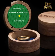 LOTR/Hobbit Proposal (idea) -- I would say yes on the spot. Just sayin'.