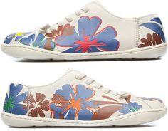 Camper Twins Bege Sapatos planos Mulher K200367-002