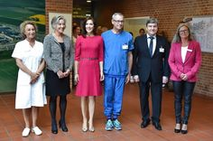 Princess Mary attends the opening of the International School of Aarhus