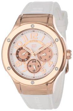 Tommy Hilfiger Women's 1781311 Sport Lux Multi-Eye Crystals on Bezel Watch