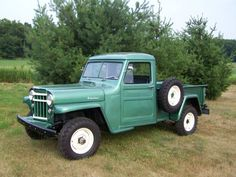 1956 Willys Truck  Maintenance/restoration of old/vintage vehicles: the material for new cogs/casters/gears/pads could be cast polyamide which I (Cast polyamide) can produce. My contact: tatjana.alic@windowslive.com