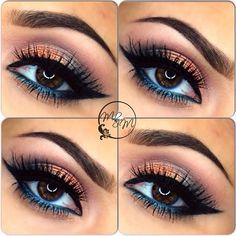 Wonderful colors for brown eyes.
