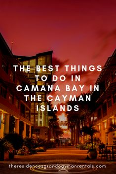 The Best Things to Do in Camana Bay in the Cayman Islands - The Residences Grand Cayman Rentals Stuff To Do, Things To Do, Good Things, Parasailing, Underwater Life, Deep Sea Fishing, Grand Cayman, Tropical Paradise, Cayman Islands