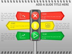 Presentermedia Powerpoint Templates 3d Animations And Clipart Report Template Traffic Signal Templates
