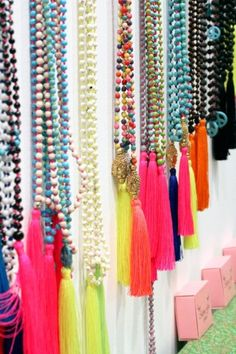 Tassel Jewelry. I would use it more for decoration