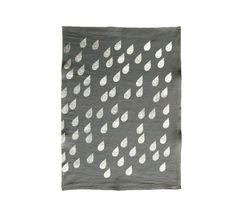 Tea Towel / ZakkaNouveau $22 #tea towel #metallic