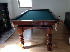 Antique Snooker Tables. Antique Billiards Tables | Browns Antiques Billiards and Interiors.