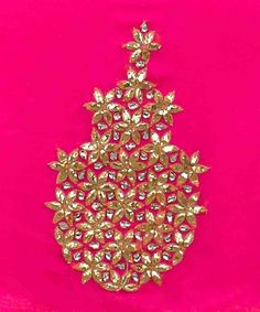 Beautiful gota work